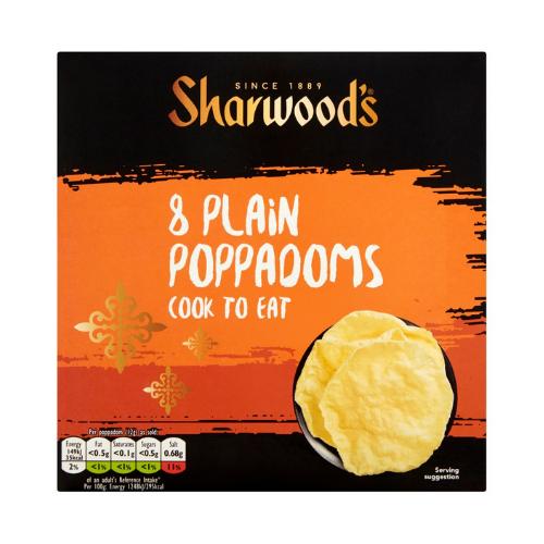 SHARWOODS_POPPADOMS